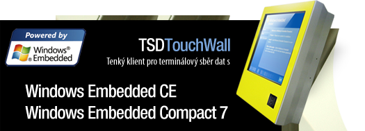 DENIP/TSD + Windows Embedded CE + Windows Embedded Compact 7
