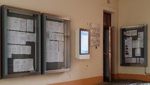 Venkovní kiosek DENIP/KIOSK - bílé provedení